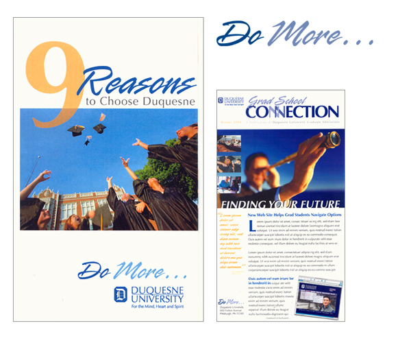 droz_duquesne_university_marketing_collateral_collage1