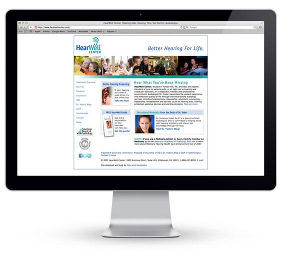 droz_hearwell_center_pittsburgh_marketing_website_design_mac_apple